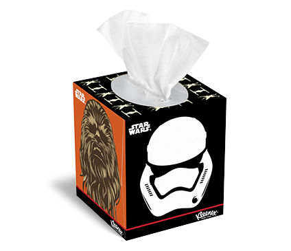 Kleenex® Star Wars Tissue Box Designs