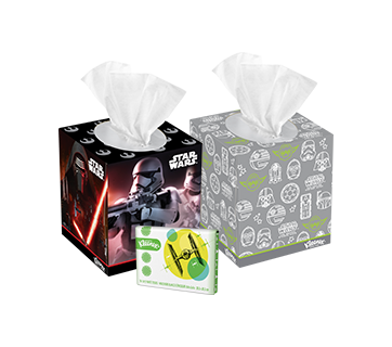 Limited edition Star Wars tissue box collection from Kleenex.