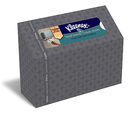 Kleenex Disposable Bathroom Hand Towels - Paper hand towels for bathroom