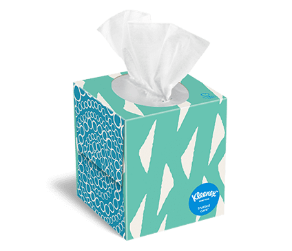 Kleenex Trusted Care Facial Tissue Boxes And On The Go Packs