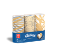 Kleenex® Perfect Fit facial tissues are great for small spaces.