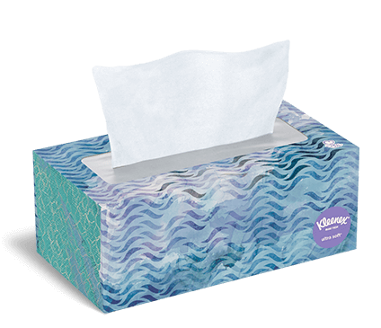 Gradually. with facial tissue seems excellent
