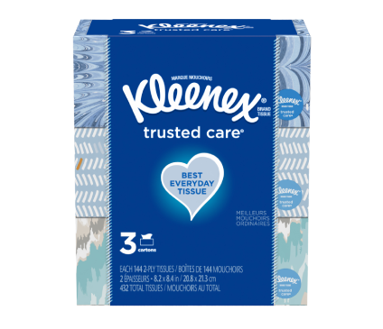Trusted Care Flat Box Trusted Care 3X144 Medium Count Flat