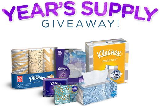 years supply giveaway sweeps