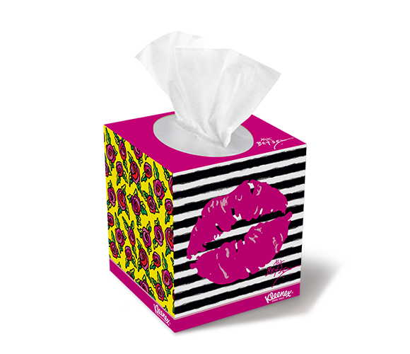 Kleenex Expressions® Tissue Box Designs & Colors | Kleenex ...