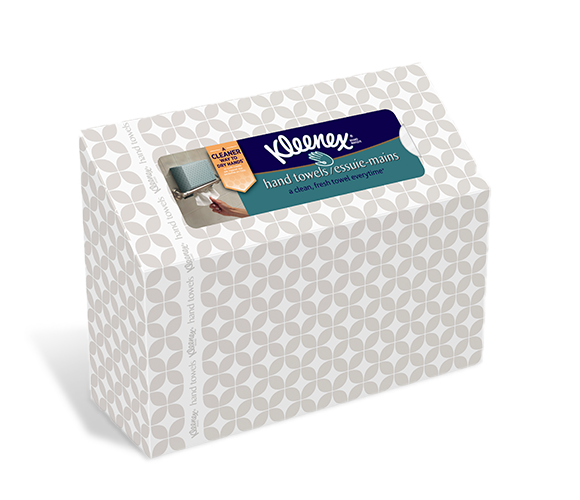 Bathroom Napkins kleenex® disposable bathroom hand towels